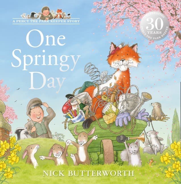 HarperCollinsChildren'sBooks Percy the Park Keeper: One Springy Day