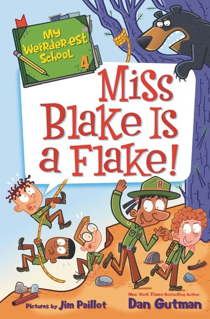 HarperCollins My Weirder-est School 04 Miss Blake Is a Flake!