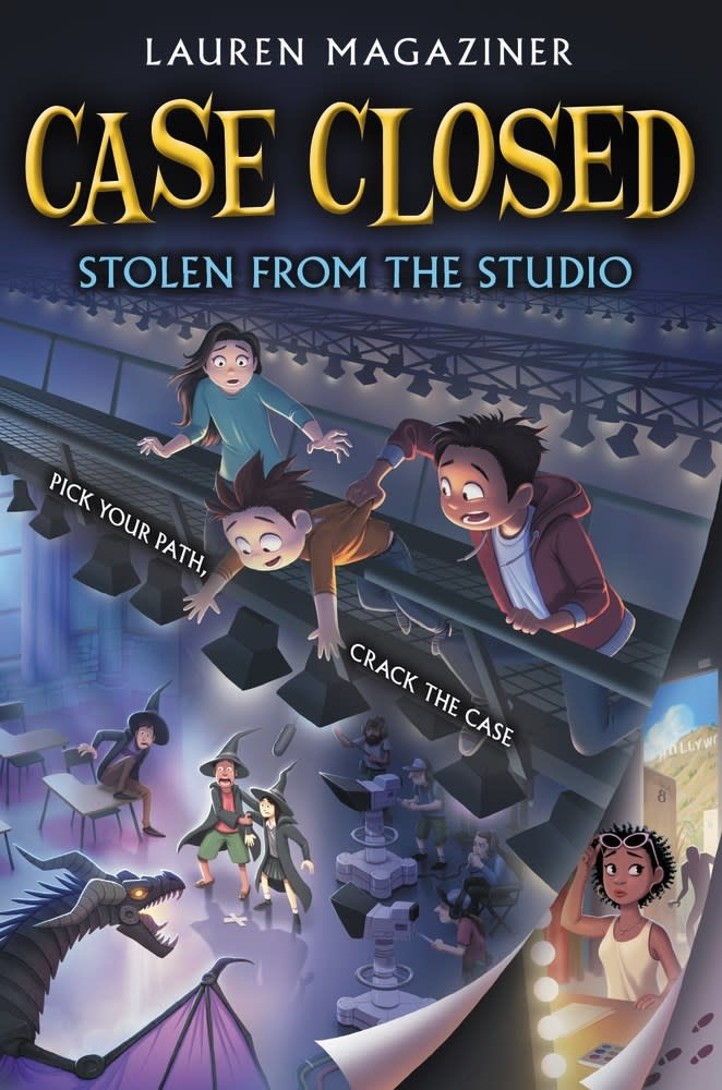 Katherine Tegen Books Case Closed 02 Stolen from the Studio