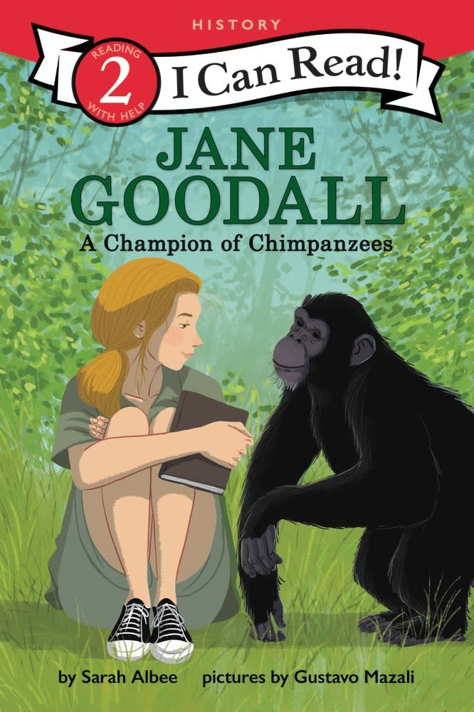 HarperCollins Jane Goodall: A Champion of Chimpanzees (I Can Read!, Lvl 2)