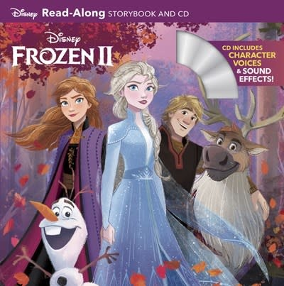 Disney Press Disney: Frozen 2 Read-Along (Storybook and CD)