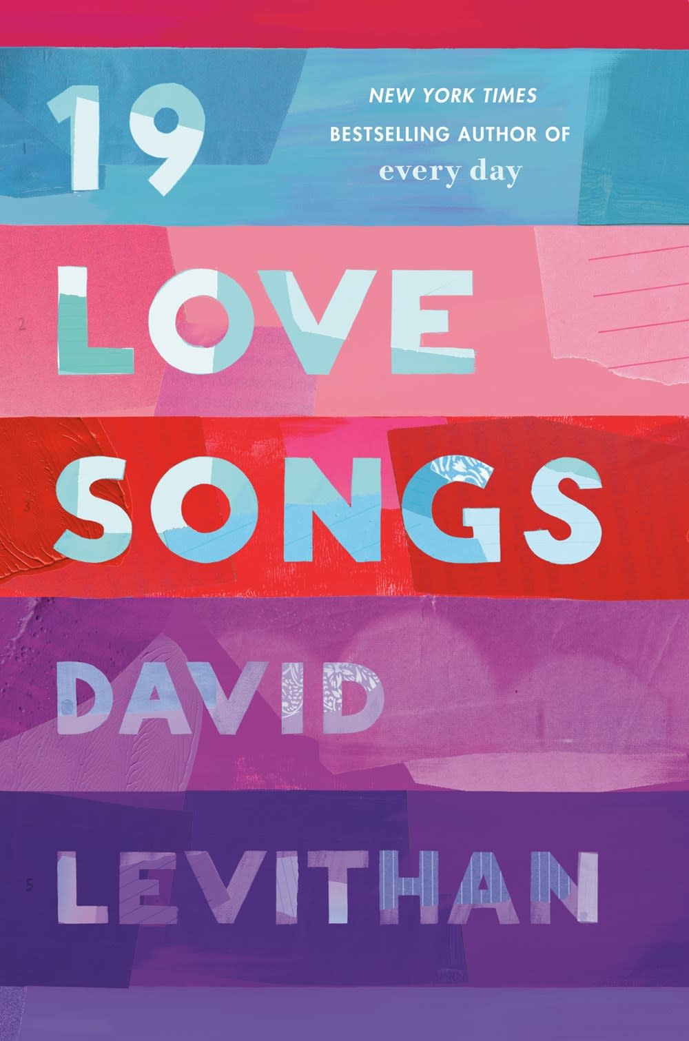Knopf Books for Young Readers 19 Love Songs