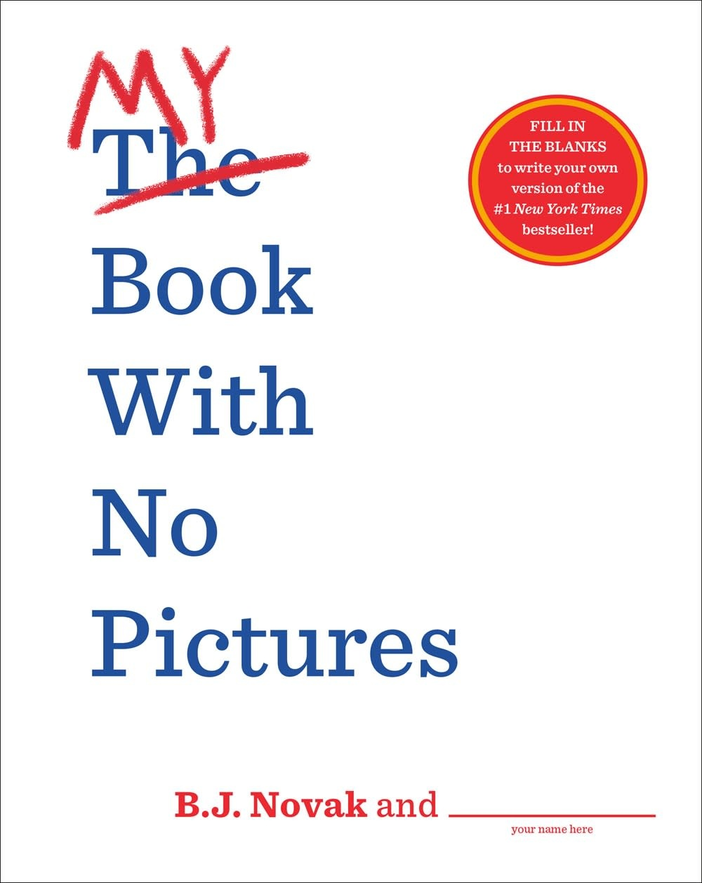 Dial Books My Book with No Pictures