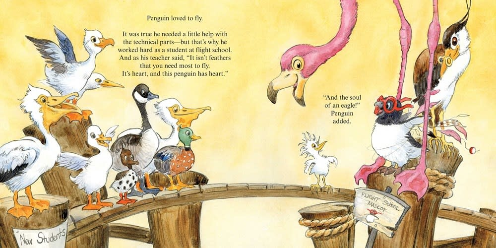 Atheneum Books for Young Readers Penguin Flies Home