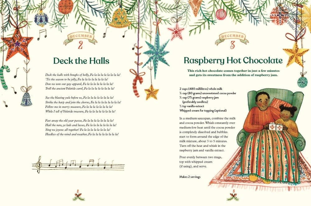 Chronicle Books Christmas Is Coming! An Advent Book