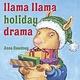 Viking Llama Lllama Holiday Drama
