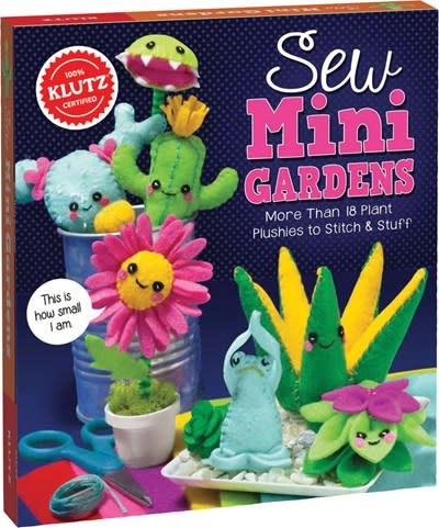 Klutz Craft Kits Sew Mini Gardens