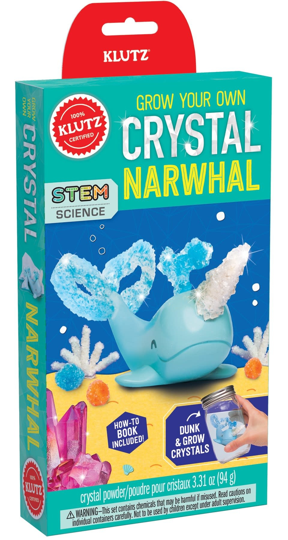 Klutz Klutz: Grow Your Own Crystal Narwhal