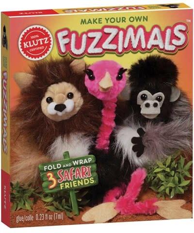 Klutz Craft Kits Klutz: Fuzzimals Safari