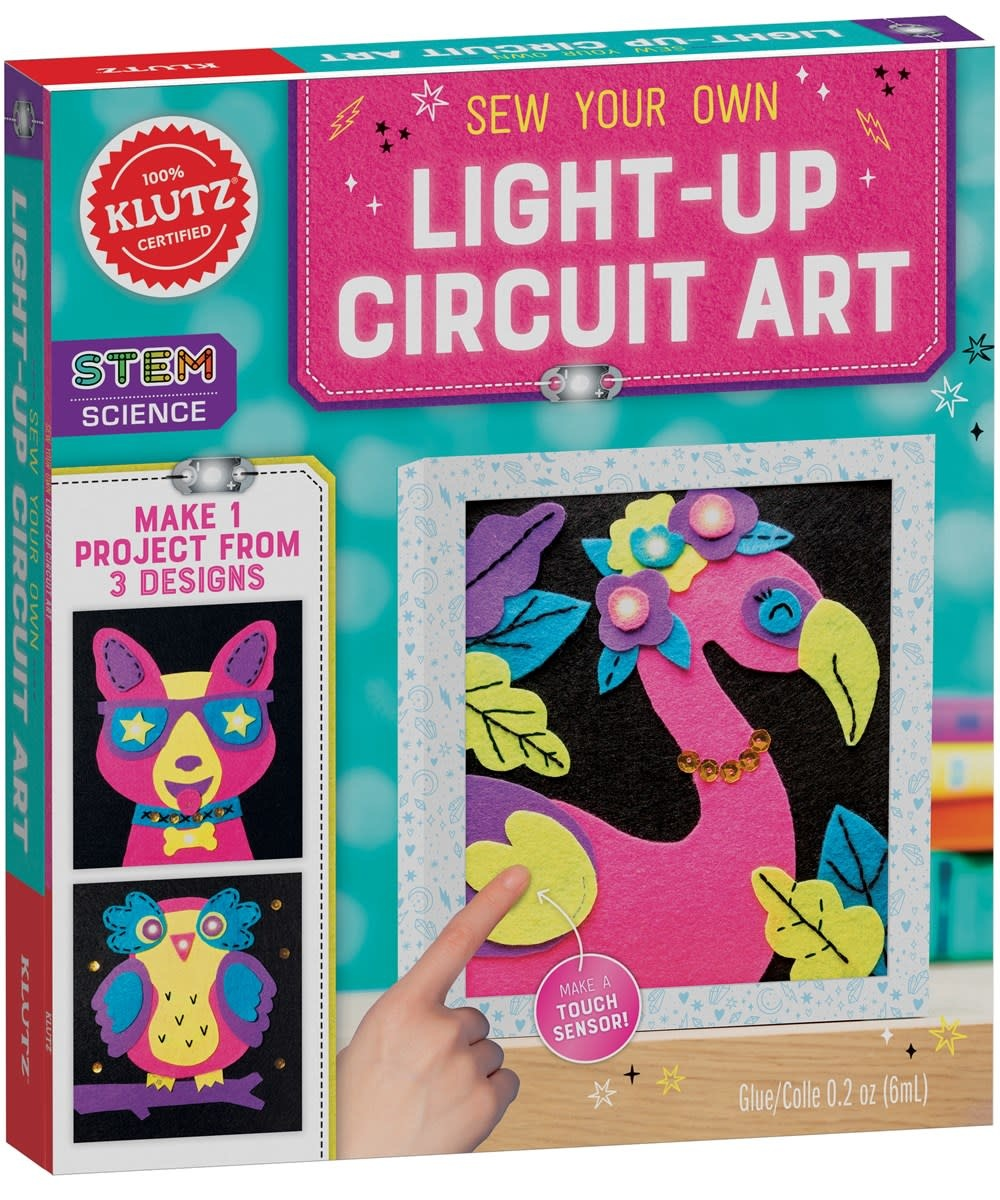 Klutz Klutz: Sew Your Own Light-Up Circuit Art