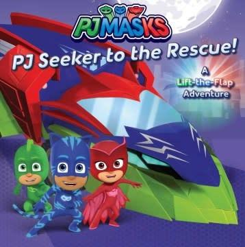 Simon Spotlight PJ Masks: PJ Seeker to the Rescue!