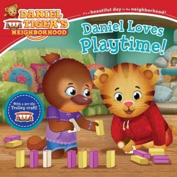 Simon Spotlight Daniel Tiger: Loves Playtime!