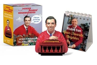 Running Press Miniature Editions Mister Rogers Talking Figurine