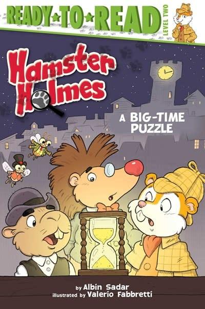 Simon Spotlight Hamster Holmes, A Big-Time Puzzle