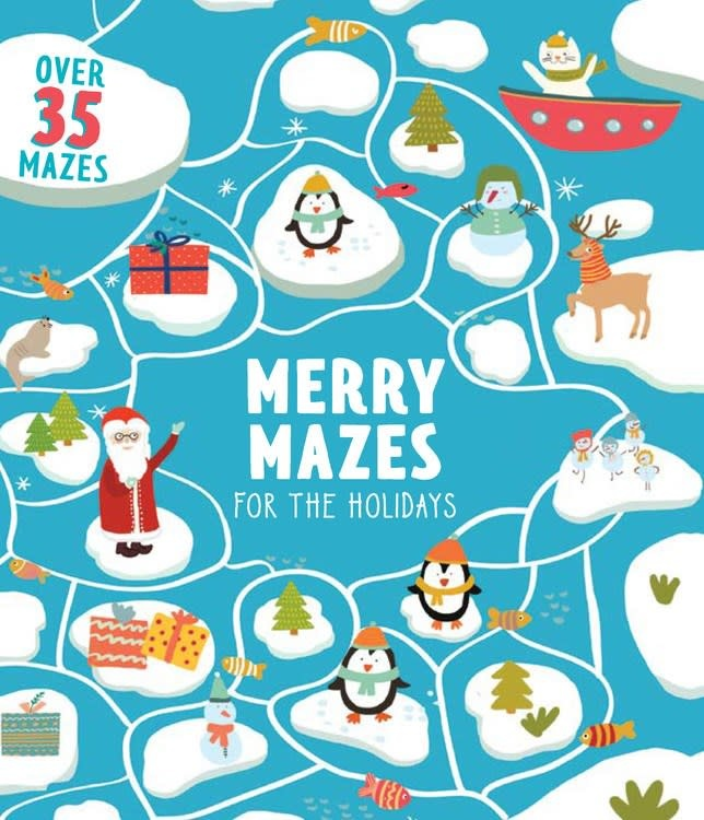 Clever Publishing Merry Mazes for the Holidays