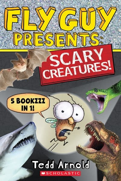Scholastic Nonfiction Fly Guy Presents: Scary Creatures! (5-in-1 Book)