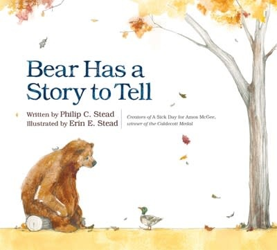 Roaring Brook Press Bear Has a Story to Tell