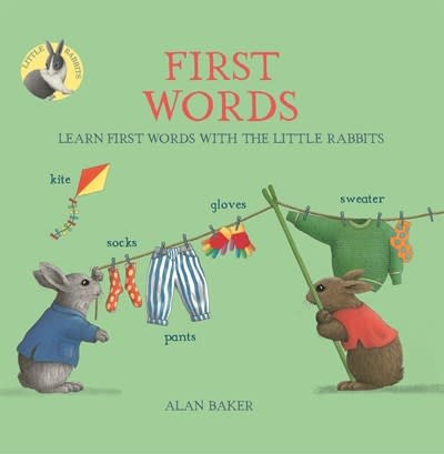 Kingfisher Little Rabbits' First Words
