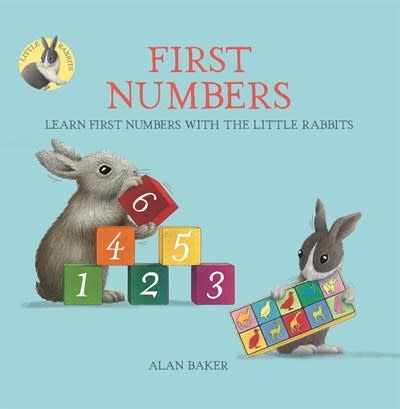 Kingfisher Little Rabbits' First Numbers