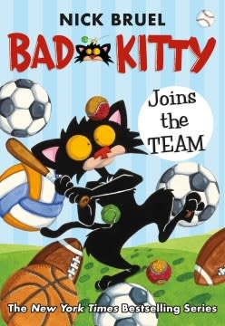 Roaring Brook Press Bad Kitty Joins the Team