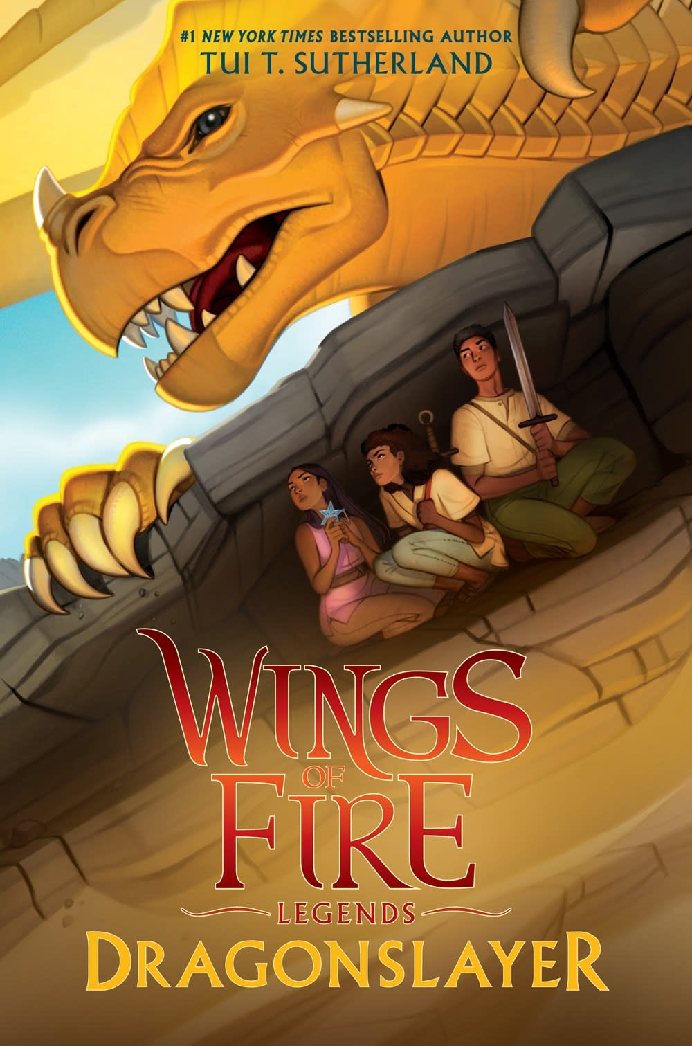 Scholastic Press Wings of Fire: Legends Dragonslayer