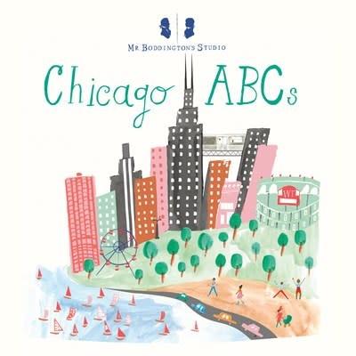 Penguin Workshop Mr. Boddington's Studio: Chicago ABCs (Board Book)