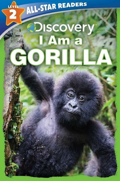 Silver Dolphin Books Discovery Leveled Readers: I Am a Gorilla Level 2