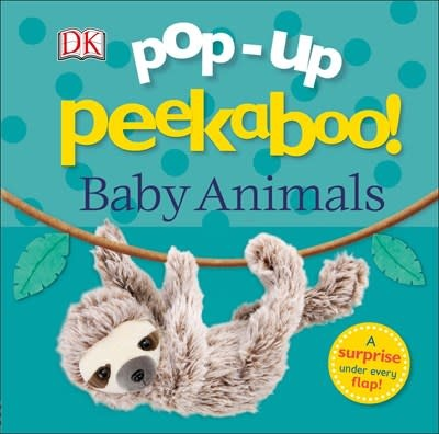 DK Children Pop-Up Peekaboo! Baby Animals