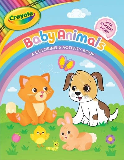 little bee books Crayola Baby Animals: A Coloring & Activity Book