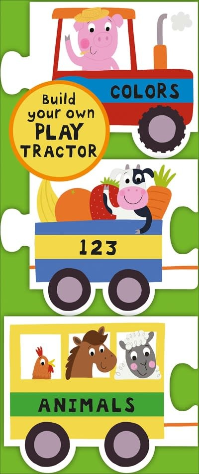 Priddy Books Chunky Set: Play Tractor