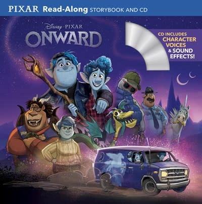 Disney Press Disney Onward Read-Along (Storybook and CD)