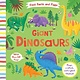Silver Dolphin Books First Facts and Flaps: Giant Dinosaurs