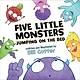 Sourcebooks Jabberwocky Five Little Monsters Jumping on the Bed