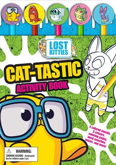 Printers Row Hasbro Lost Kitties: Pencil Toppers