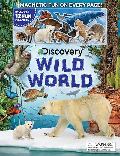 Silver Dolphin Books Discovery: Wild World