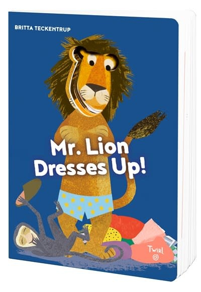 Twirl Mr. Lion Dresses Up!