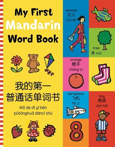 Kingfisher My First Mandarin Word Book