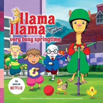 Penguin Young Readers Licenses Llama Llama Very Busy Springtime