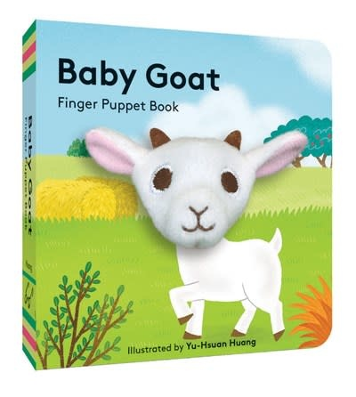 Chronicle Books Baby Goat: Finger Puppet Book