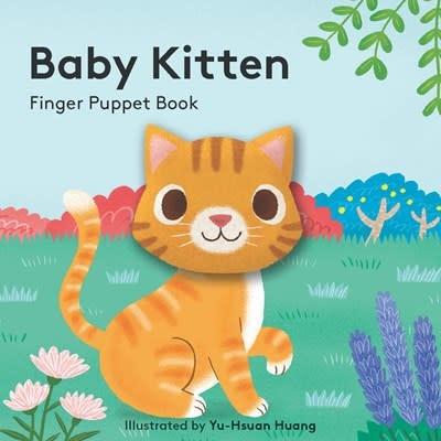 Chronicle Books Baby Kitten: Finger Puppet Book