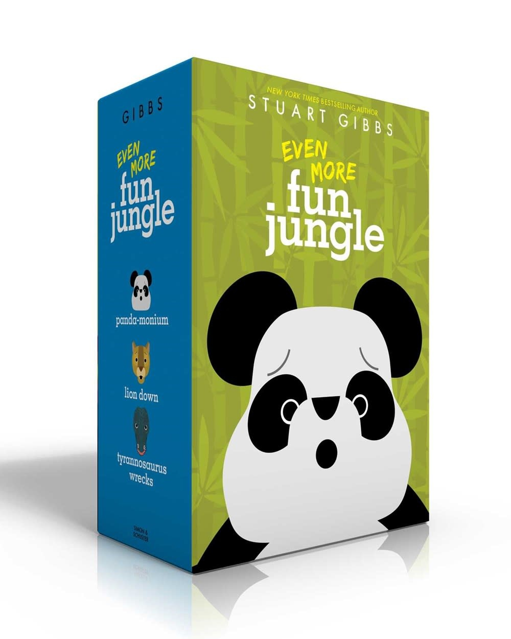 Simon & Schuster Books for Young Readers Even More FunJungle Boxed Set (#4-6)