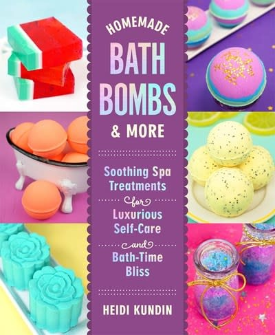 Castle Point Books Homemade Bath Bombs & More