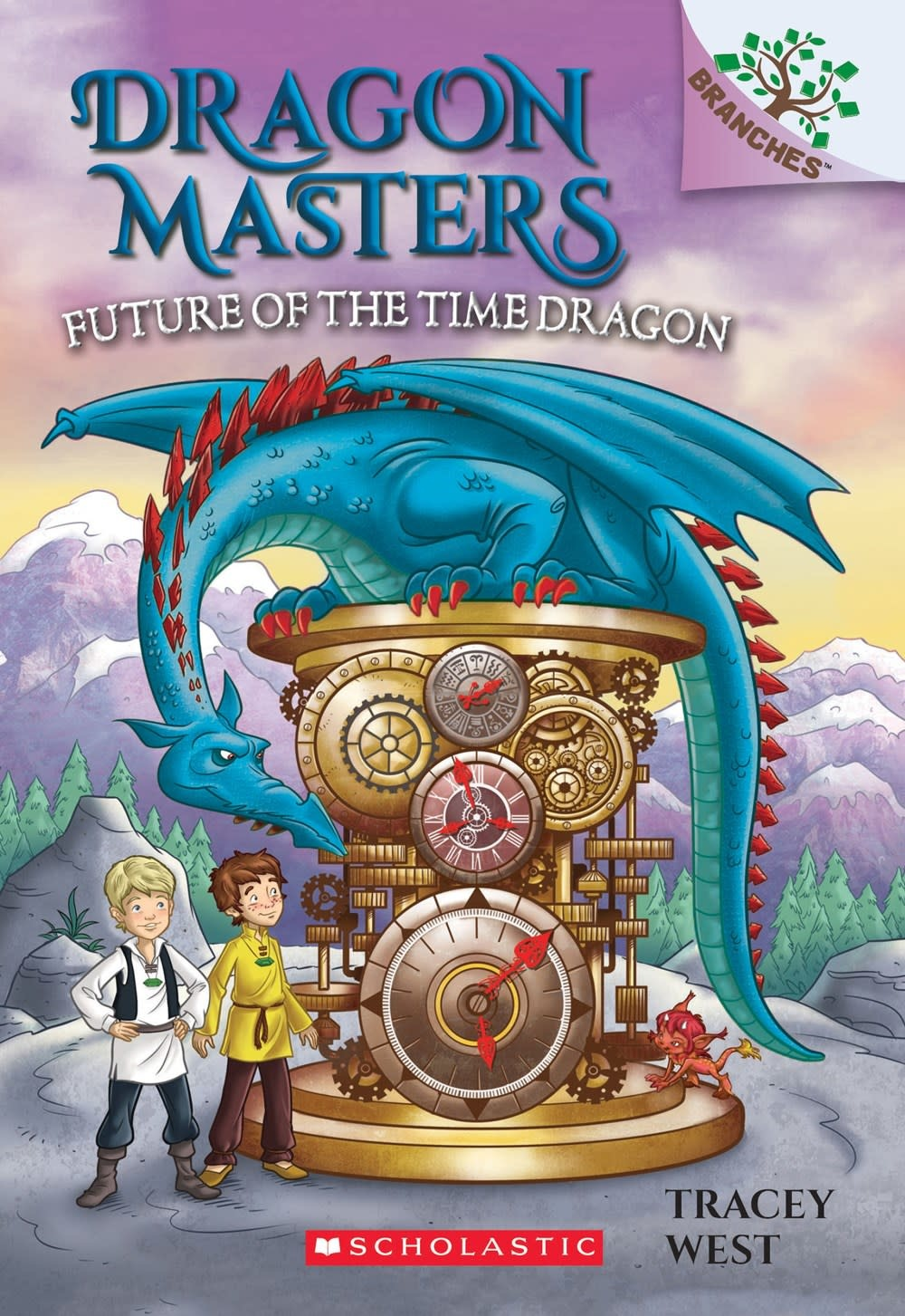 Scholastic Inc. Dragon Masters 15 Future of the Time Dragon (A Branches Book)