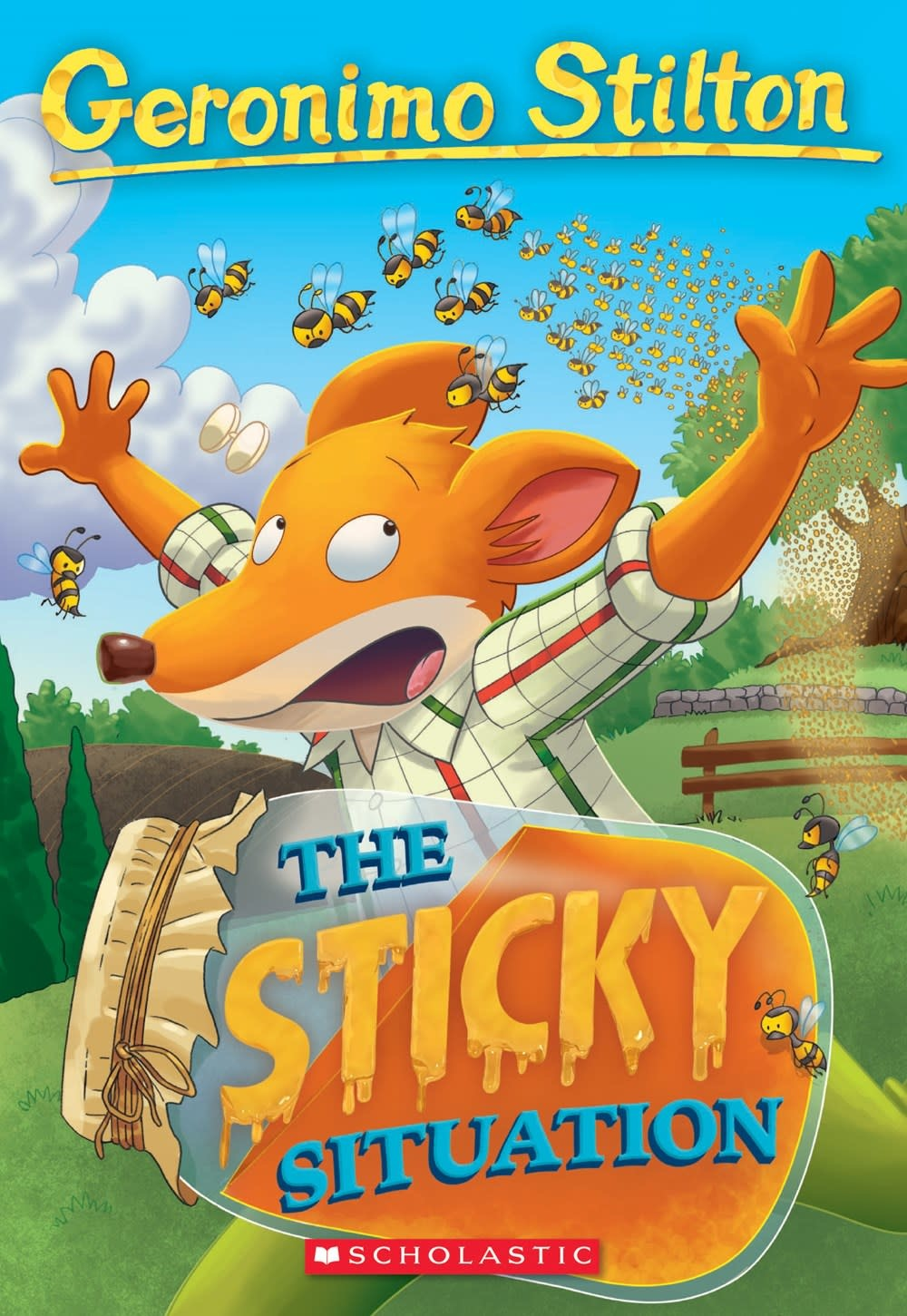 Scholastic Paperbacks Geronimo Stilton 75 The Sticky Situation