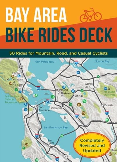 Chronicle Books Bay Area Bike Rides Deck, Revised Edition