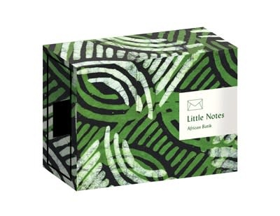 Princeton Architectural Press Little Notes: African Batik