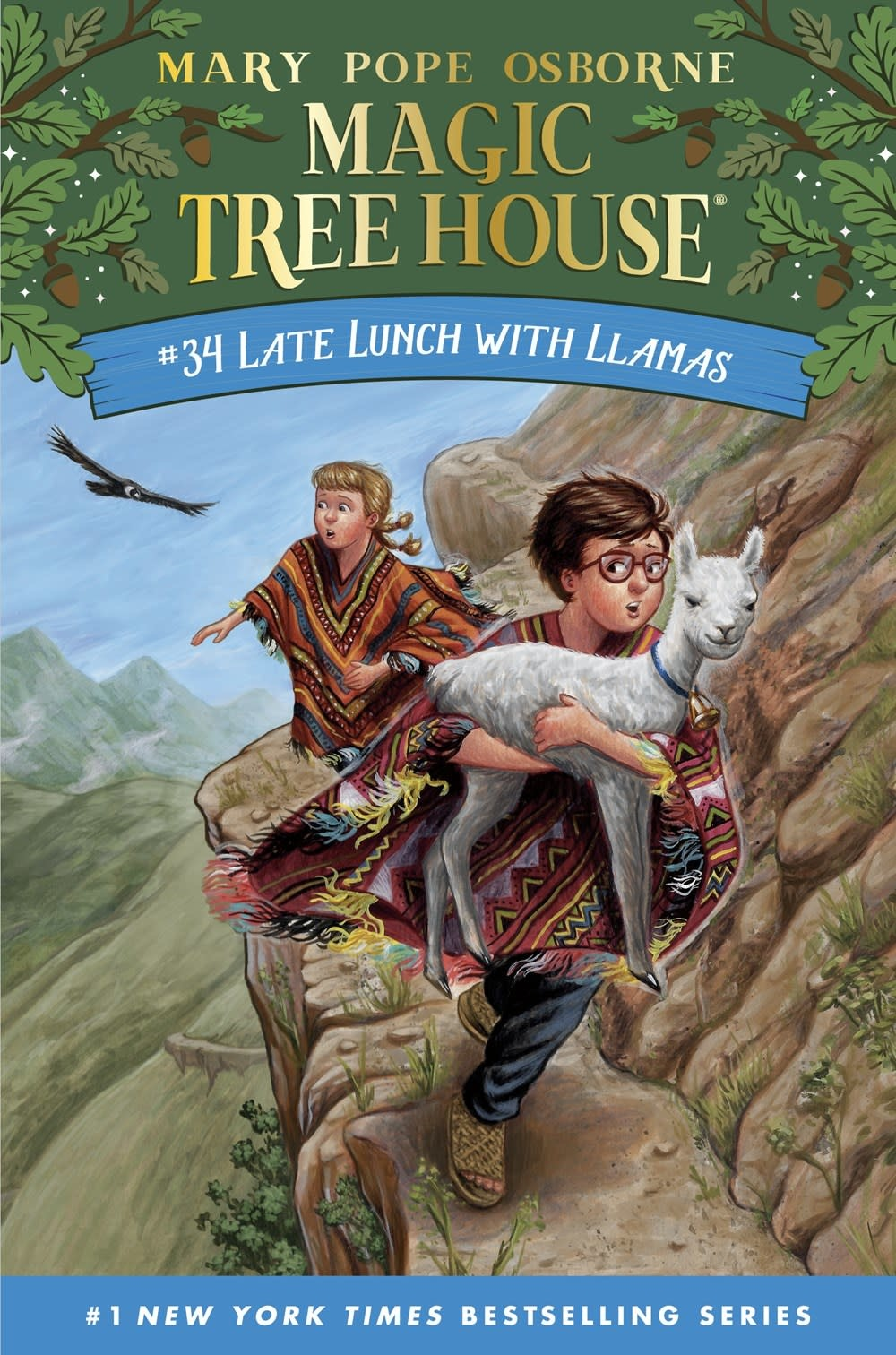 Random House Books for Young Readers Merlin Missions 34 Late Lunch with Llamas