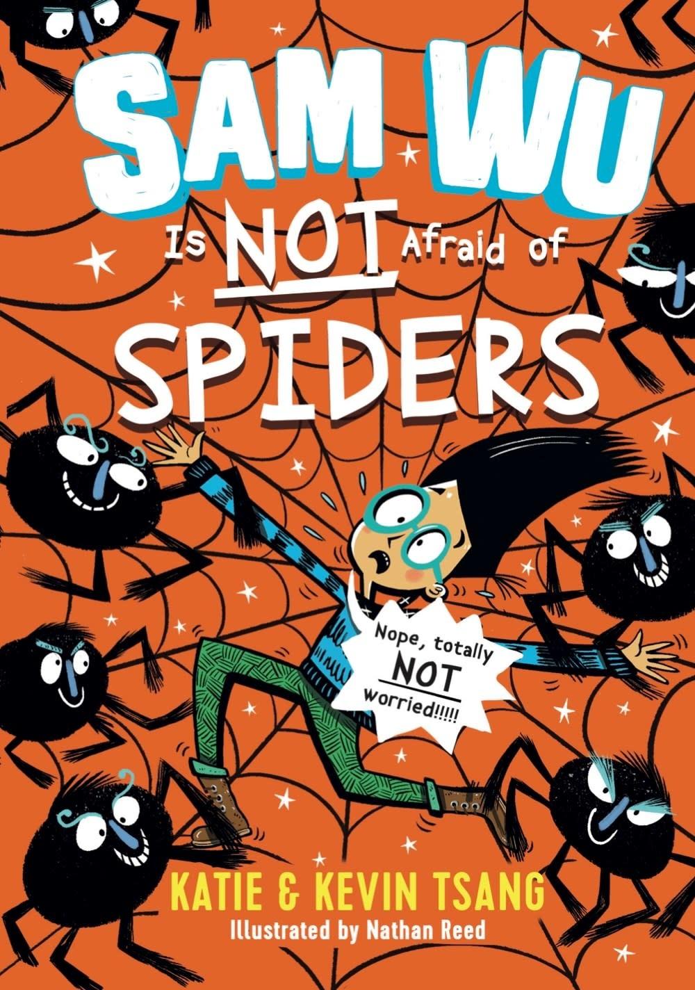 Sterling Children's Books Sam Wu Is Not Afraid of Spiders (Sam Wu #4)