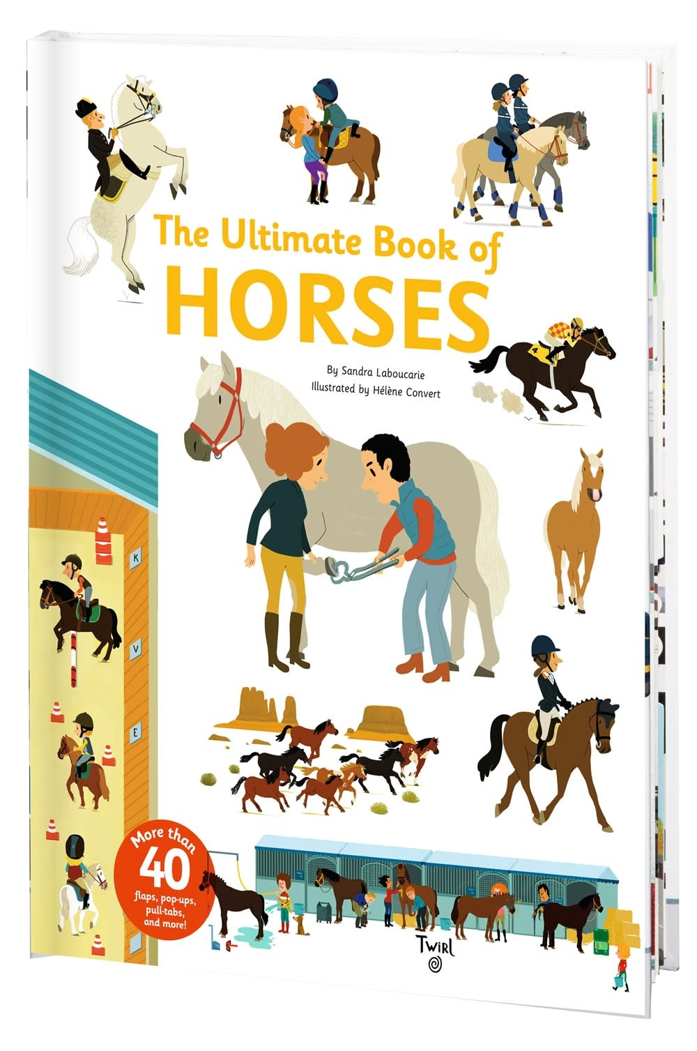 Twirl The Ultimate Book of Horses