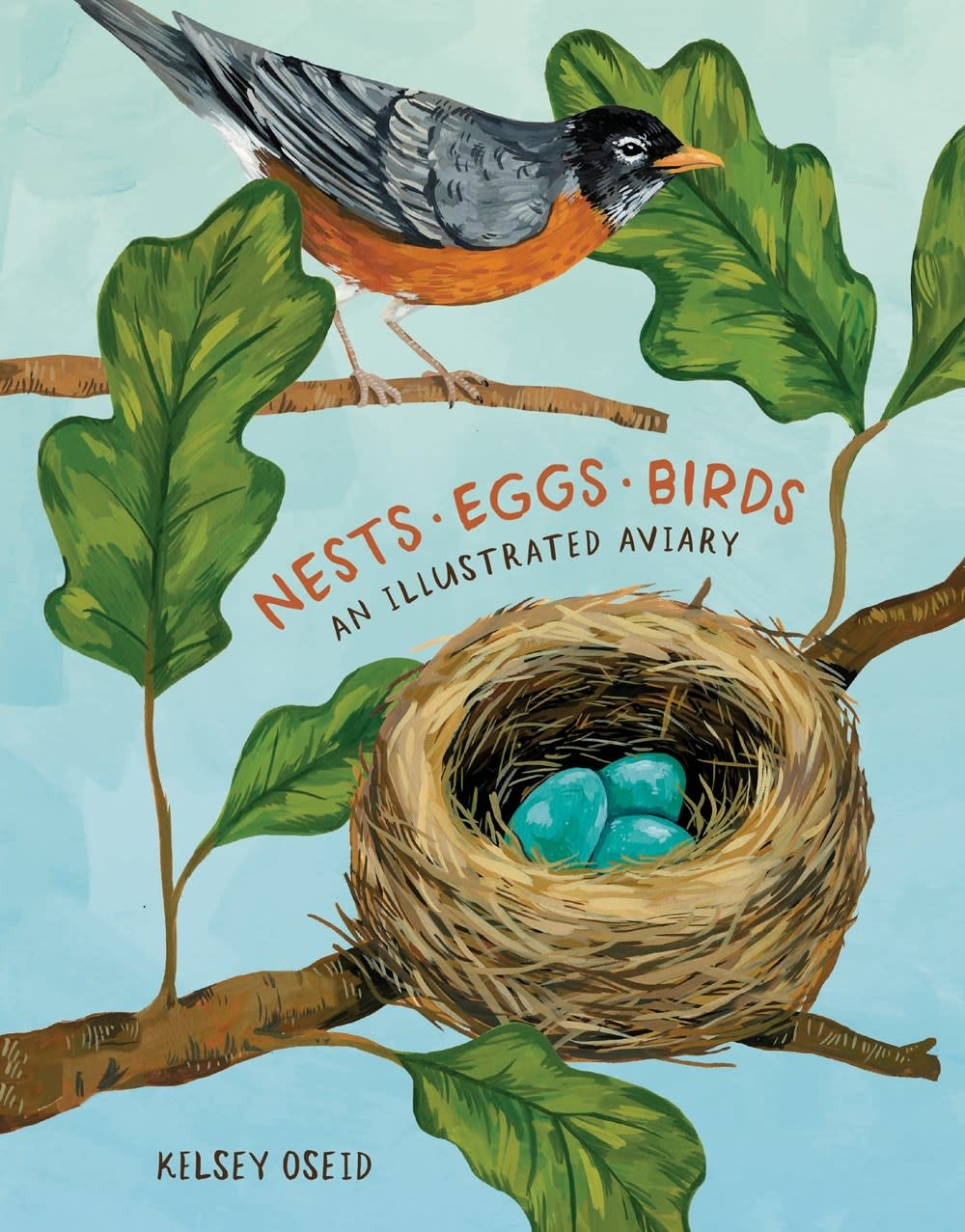 Ten Speed Press Nests, Eggs, Birds: An Illustrated Aviary